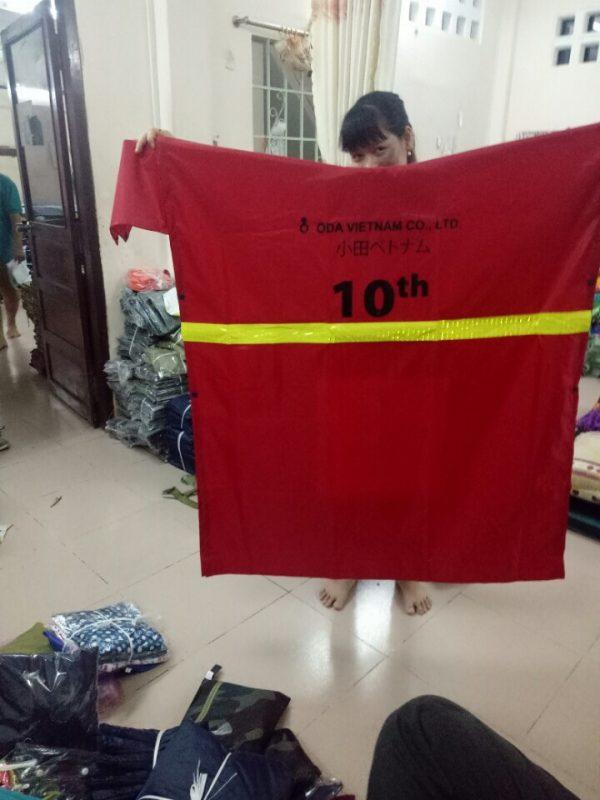 Các kích thước áo mưa cánh dơi phổ biến!